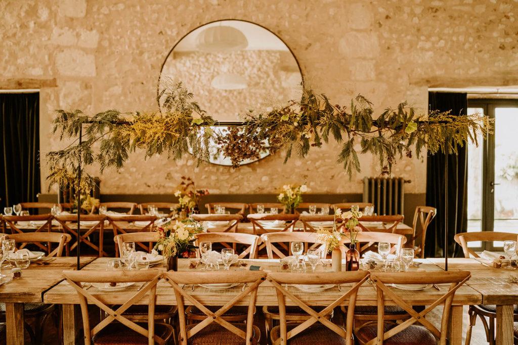 mariage nature vintage champêtre La Dîme de Giverny