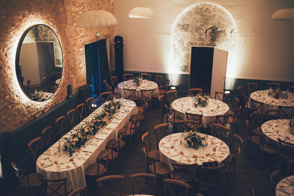 table mariage la dime de giverny