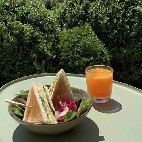 pause gourmande à Giverny